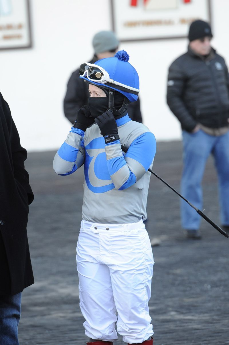 Jockey Taylor Rice 2014 at Aqueduct